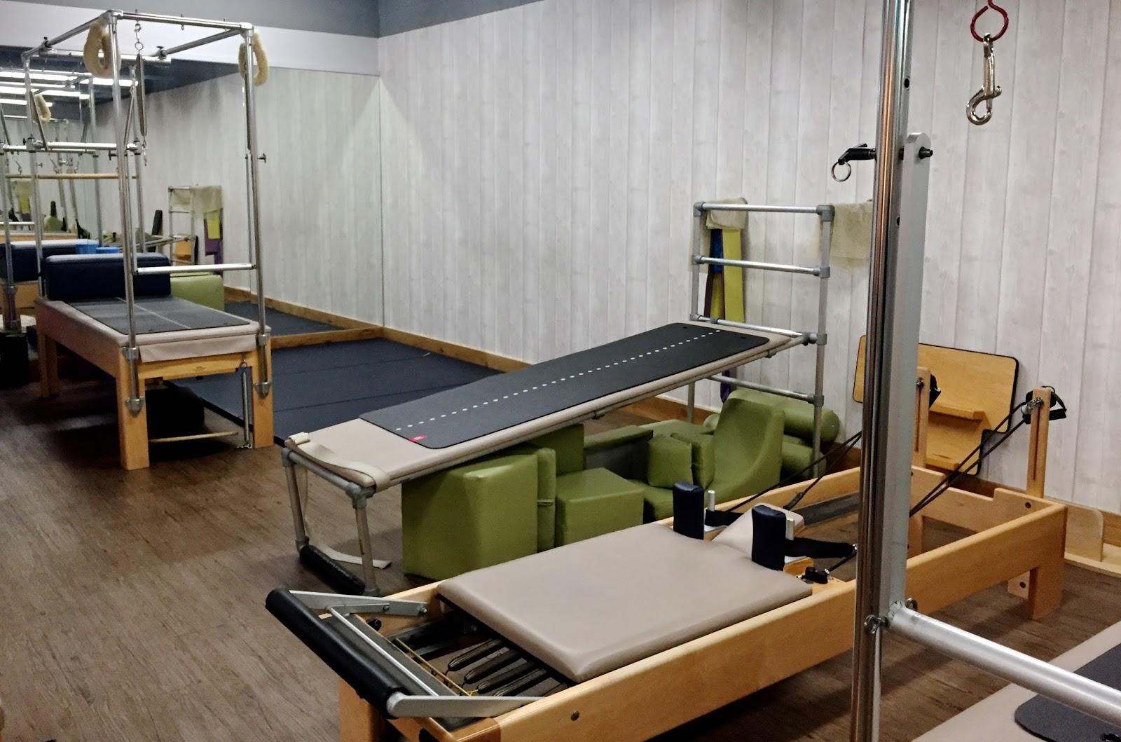 Harbour Club Chelsea Reformer Pilates Room