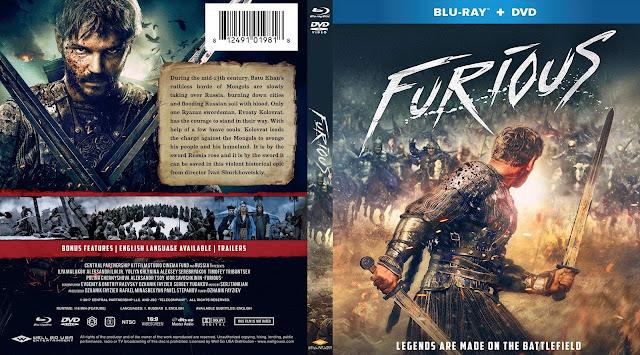 Furious a.k.a Legenda o Kolovrate Bluray