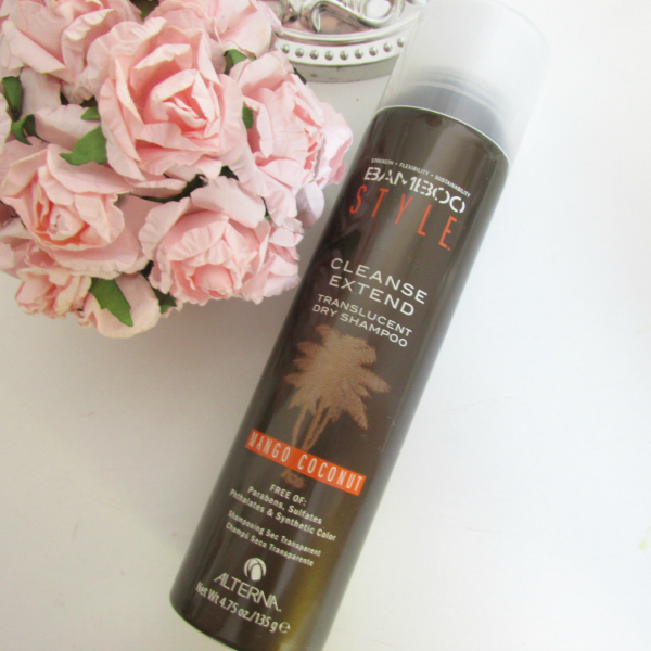 ALTERNA Bamboo Style Cleanse Extend Dry Shampoo Review, Erfahrungen