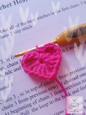 Crochet heart - Ofuniowo