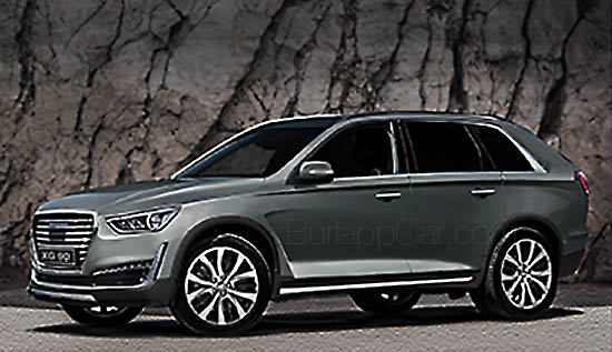 Mazda Cx 9 >> Burlappcar: Upcoming Genesis SUV