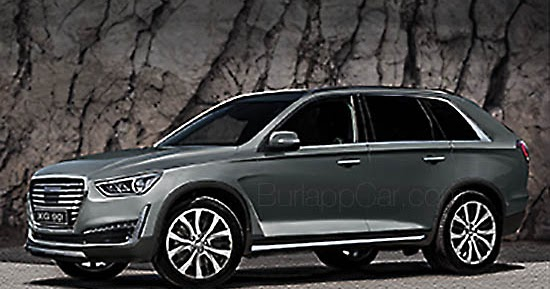 Burlappcar Upcoming Genesis Suv