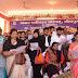 बैंड बाजों और आतिशबाजियों के बीच  नवनिवार्चित चेयर मैन माया टण्डन ने आज पदभार ग्रहण कर लिया।