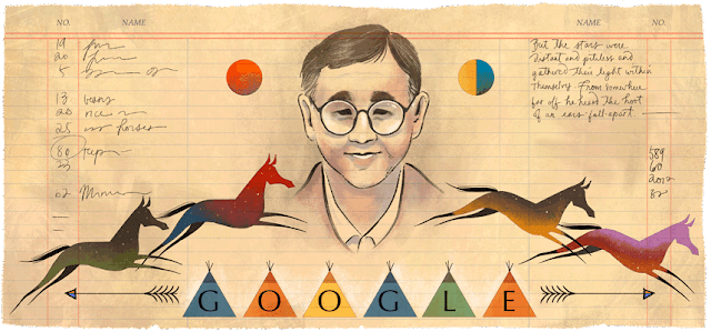 James Welch's 76th Birthday - Google Doodle