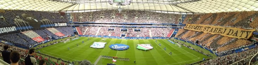 Początek meczu o Puchar Polski 2015/2016 - fot. Tomasz Janus / sportnaukowo.pl