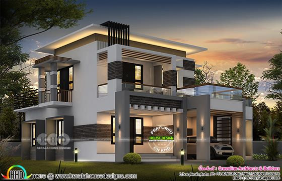 2811 square feet 4 bedroom contemporary house architecture