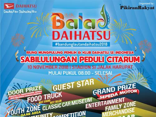 Bandung Lautan Daihatsu 2018