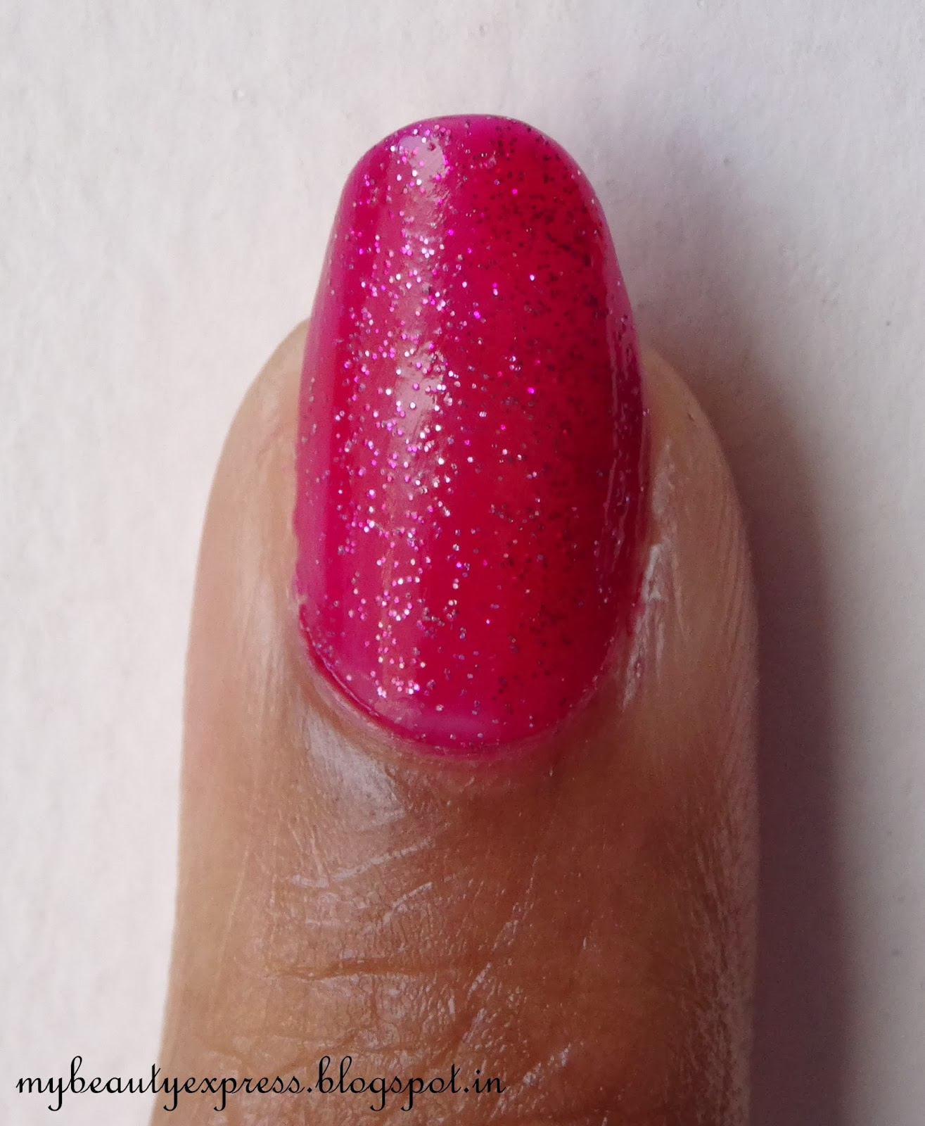 Maybelline Color Show Nail Enamel in Velvet Wine Review