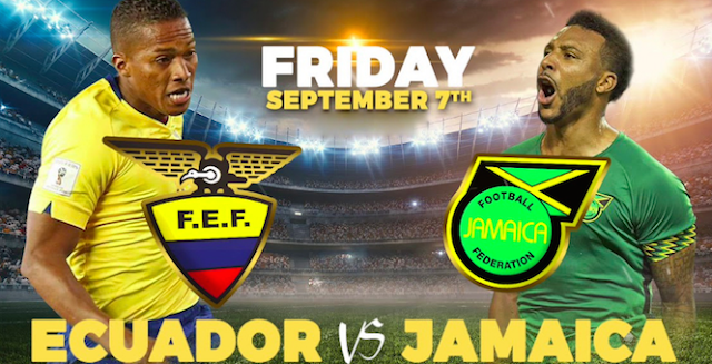 ecuador vs jamaica en vivo