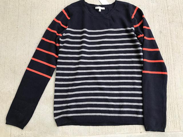 41Hawthorn Lizzy Colorblock Striped Sweater Stitch Fix