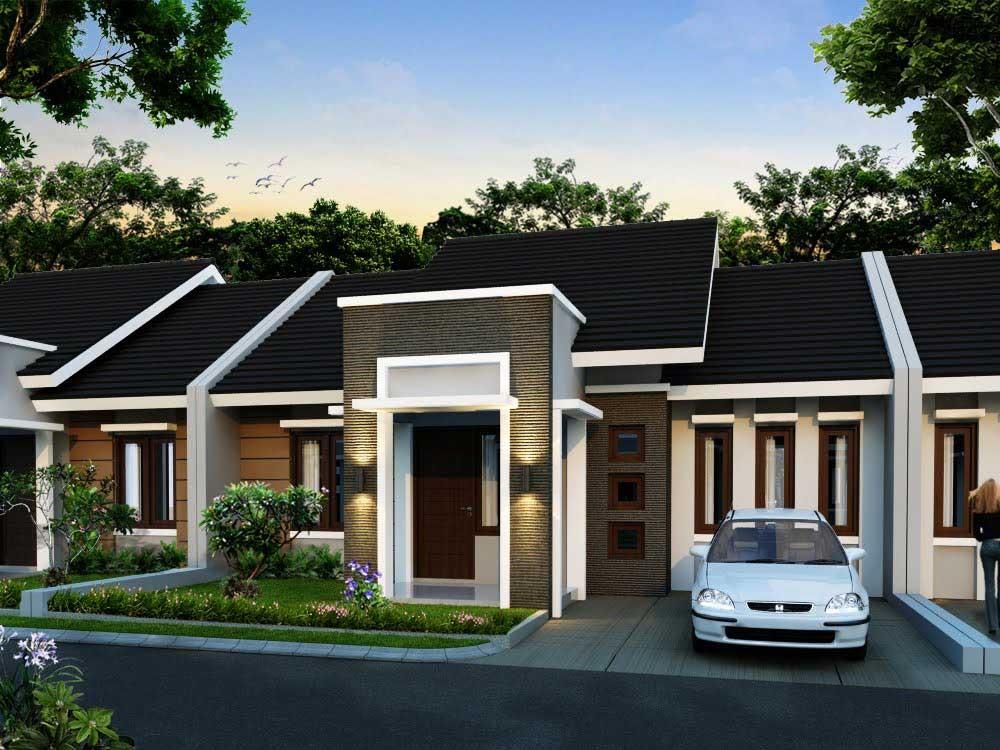 model rumah cluster 2