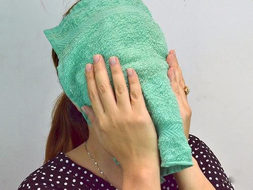 làm sạch mịn da bằng nước chanh