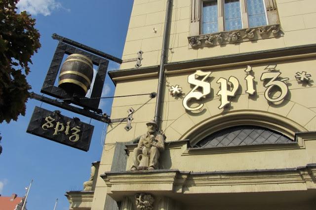 Stadsbrouwerij Spiz op Markt  in Wroclow