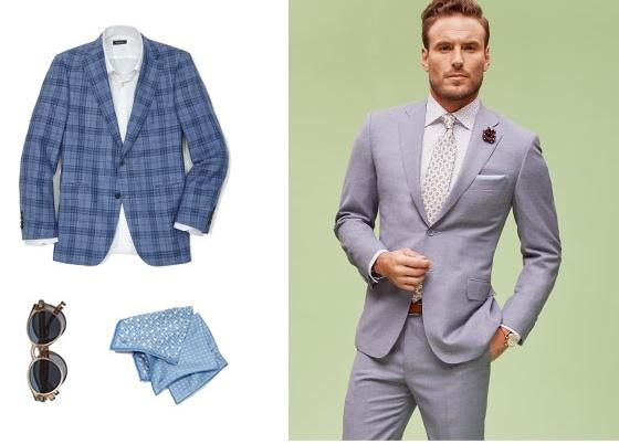 Men's Summer Garden Wedding Clothing