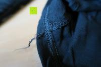 innen: ZANZEA Damen V-Ausschnitt Spitze Bluse Hemd T-Shirt Oberteil Tops