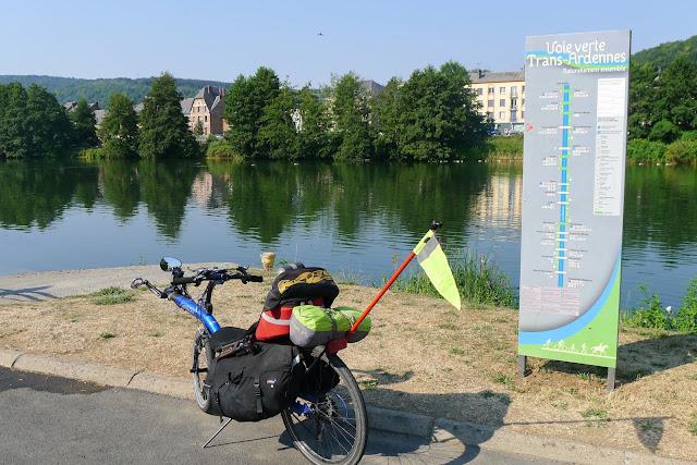 Tour de la Belgique en vélo,La Meuse