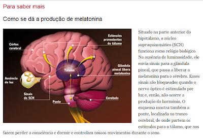Resultado de imagem para melatonina