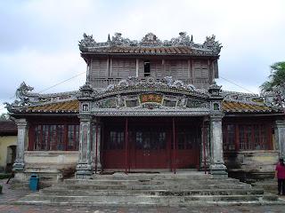 Emperor Reading Room (Tahi Binh Lau). Hue Citadel. Imperial City of Hue