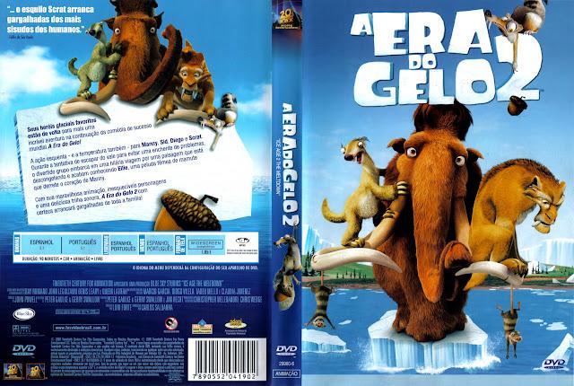 Capa DVD A ERA DO GELO 2