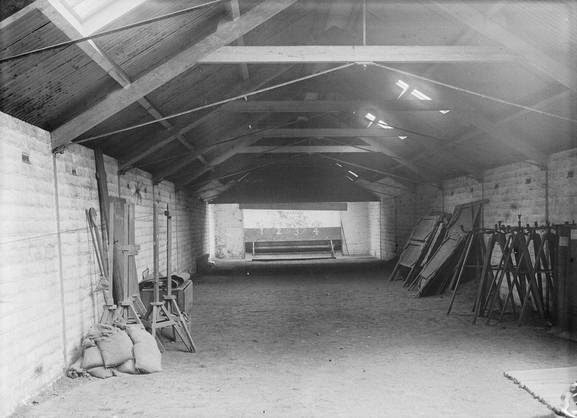 Miniature Rifle Range (interior) (dated 1914-1916).