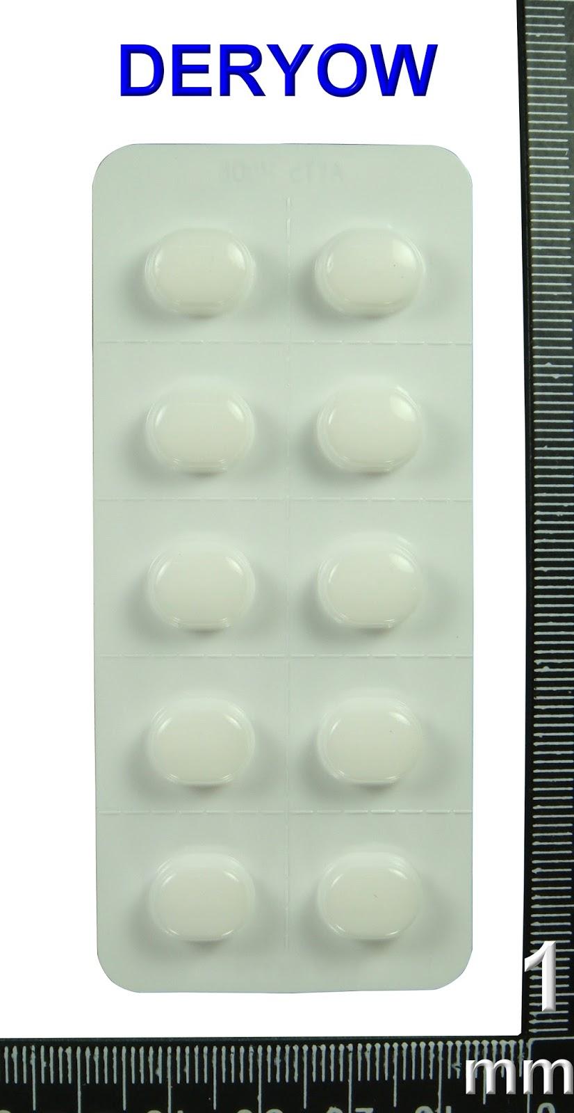 德佑藥局藥袋資訊暨藥品外觀分享: AC44475100 AMPIN 5MG TAB.〝永信 ...