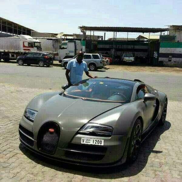 Bugatti Veyron Grand Sport Lands In Kenya