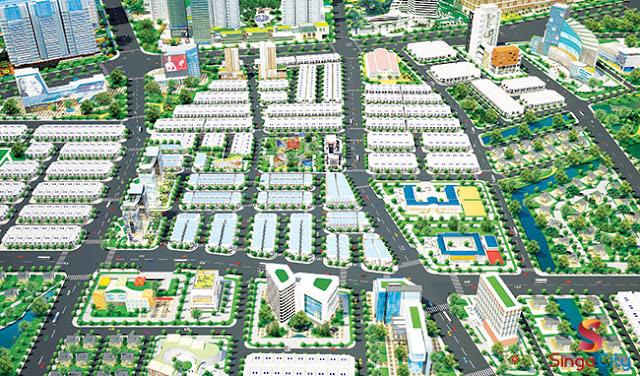 Tâm điểm bất động sản vùng ven quận 9 Singa City