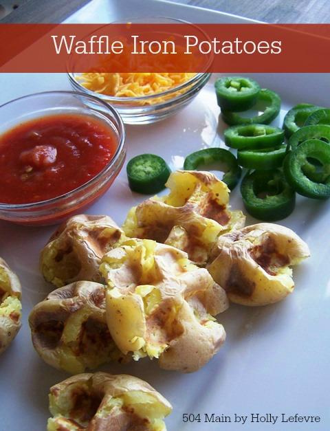 Waffle Iron Potatoes