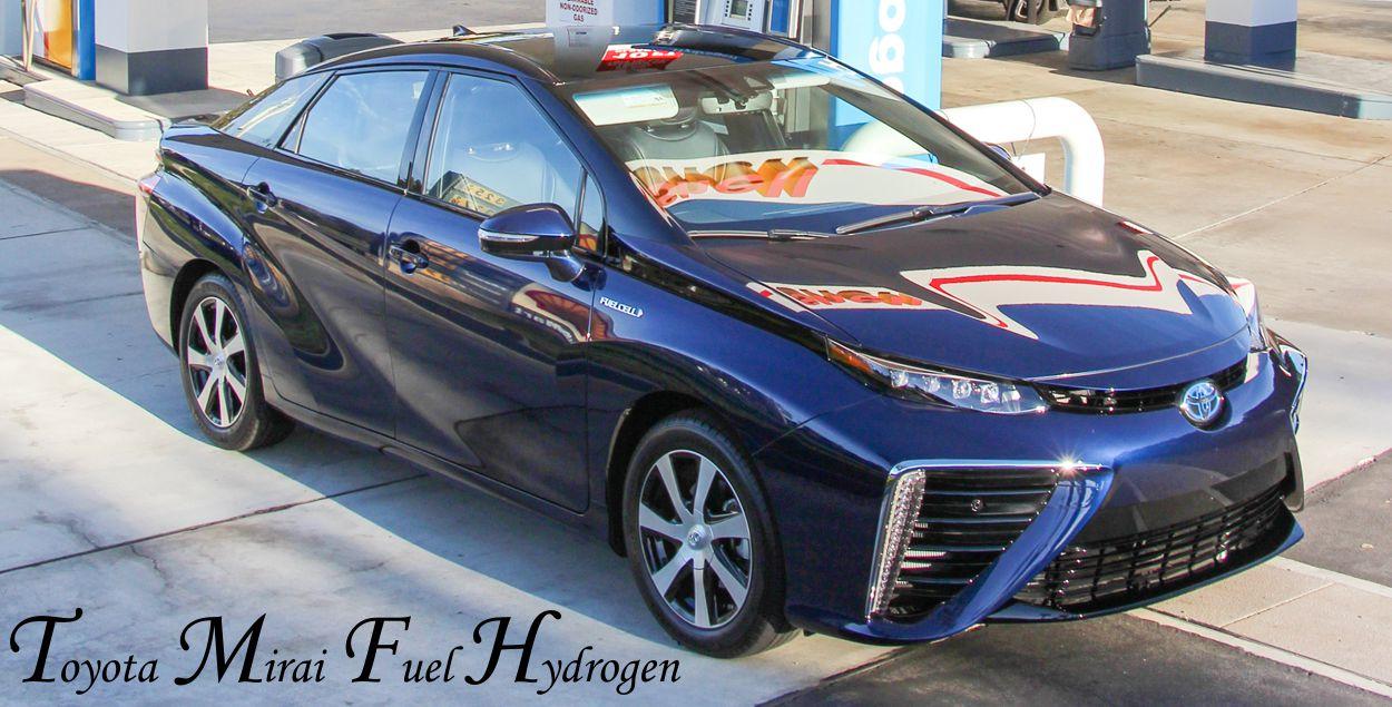 2016 Toyota Mirai Specs Hydrogen Fuel Cell Sedan