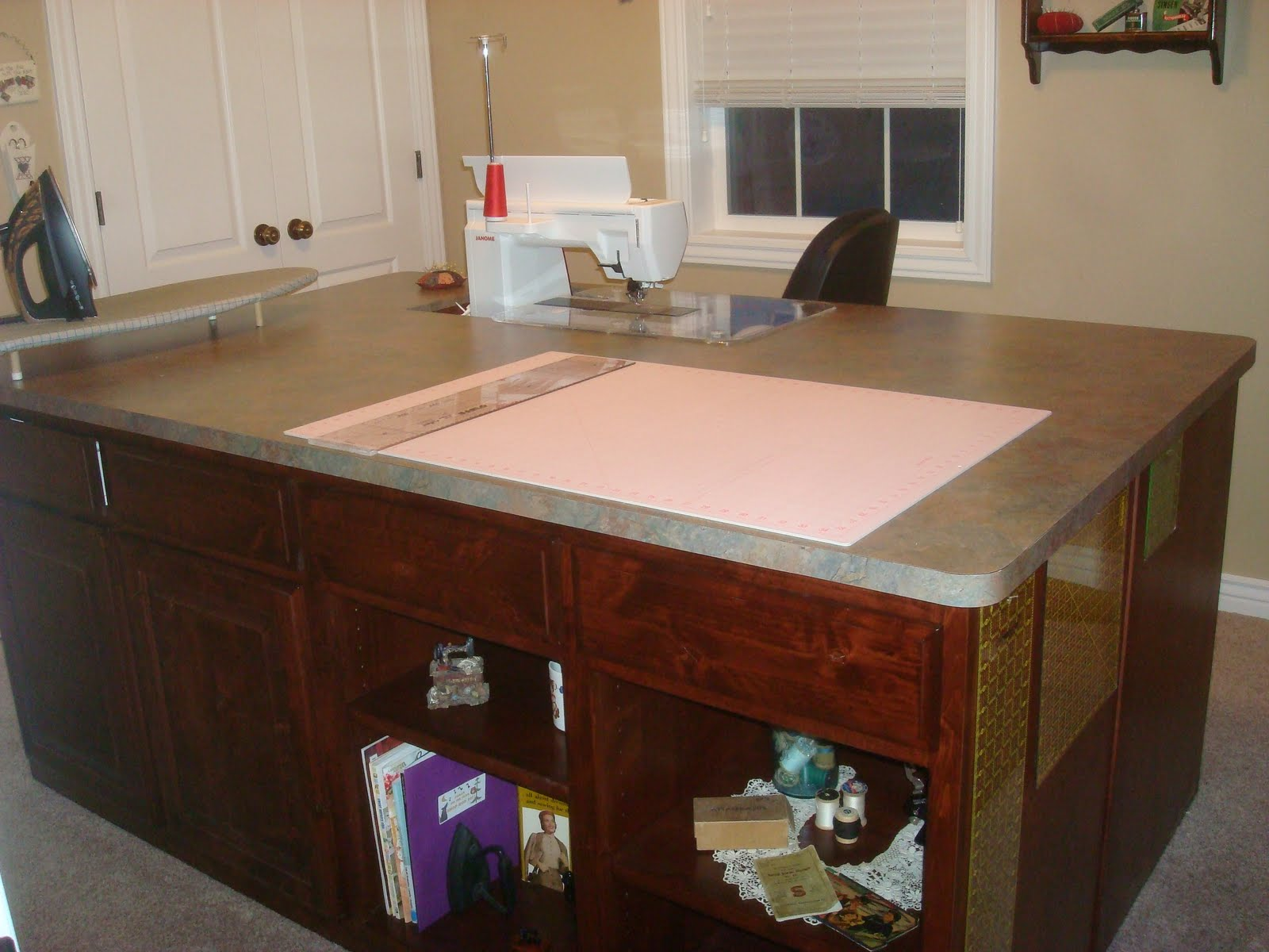 Because I Say Sew My Dream Sewing Table