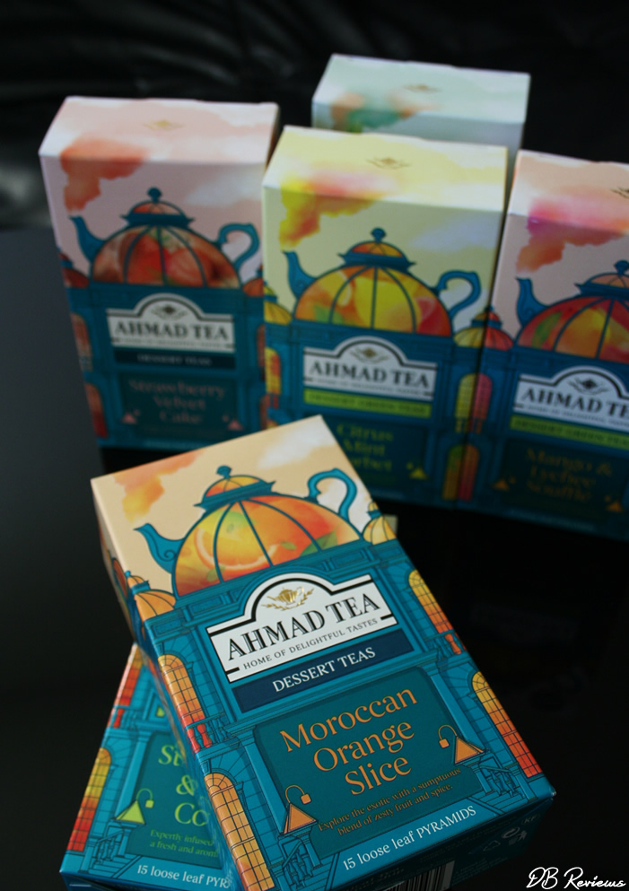 Dessert Teas from Ahmad Tea