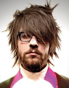 Corte de cabello degrafilado en capas hombre