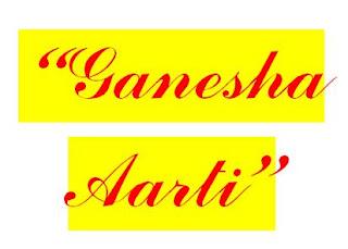 Image ganesha aarti