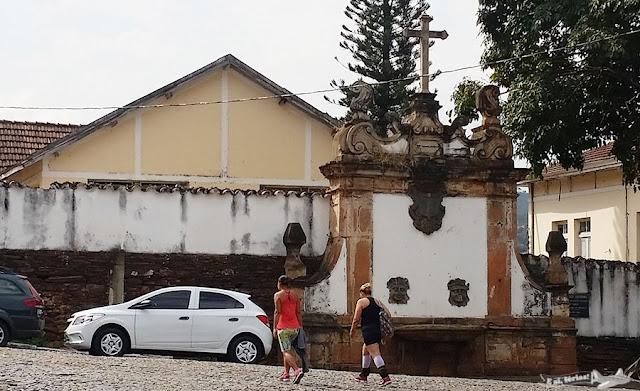 Sabará, Estrada Real, Caminho Sabarabuçu, Chafariz Rosário