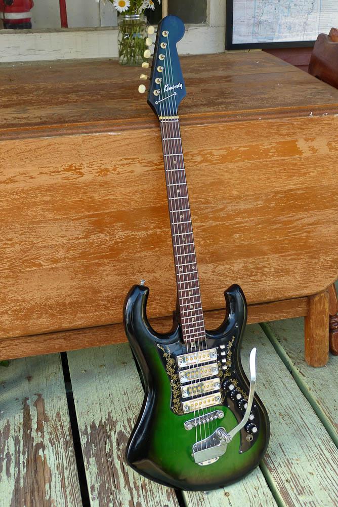C1970 Teisco 4 Pickup Kimberly Electric Guitar