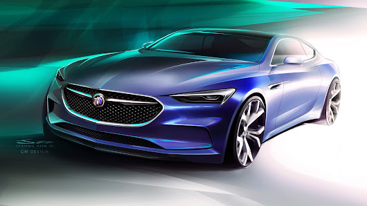 AUTOS: The stunning Buick Avista concept made a surprising debut on the eve of the 2016 Detroit Auto Show.