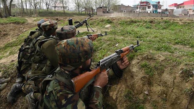 J&K: पाक ने फिर तोड़ा सीजफायर, भारतीय सेना की चौकियों में की फायरिंग