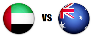 united arab emirates versus australia
