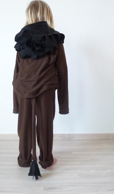 Troll costume - tail