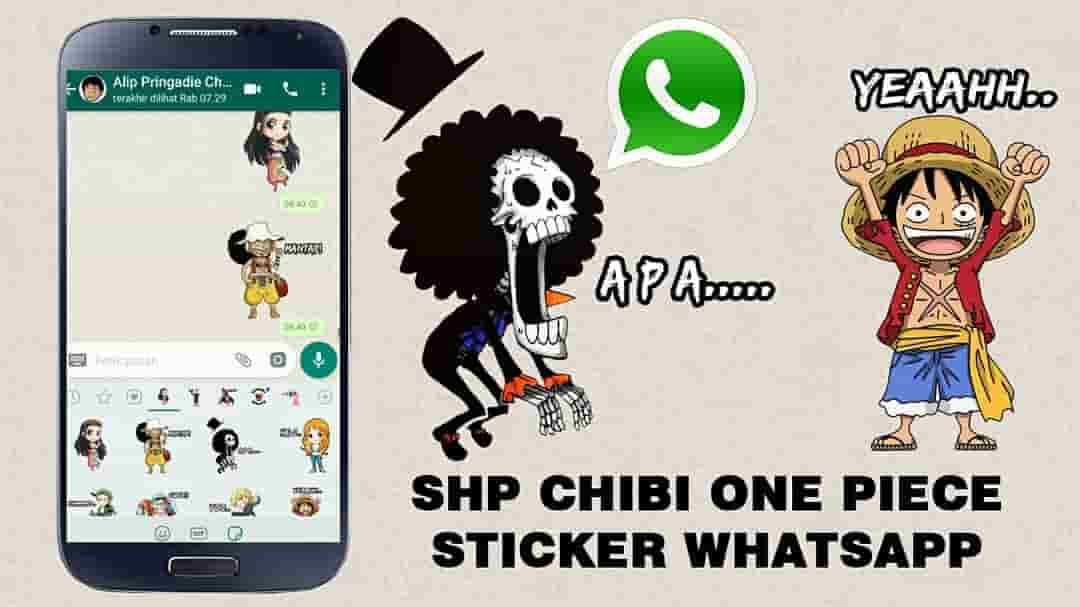 selain mudah chat satu sama lainnya, whatsapp juga menyediakan stiker-stiker lucu dan keren juga, untuk mempertarik daya chatting penggunannya.
