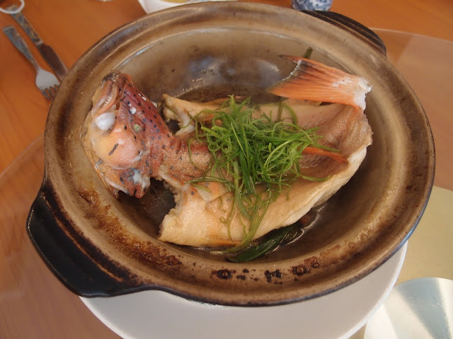 Baked Claypot Red Grouper