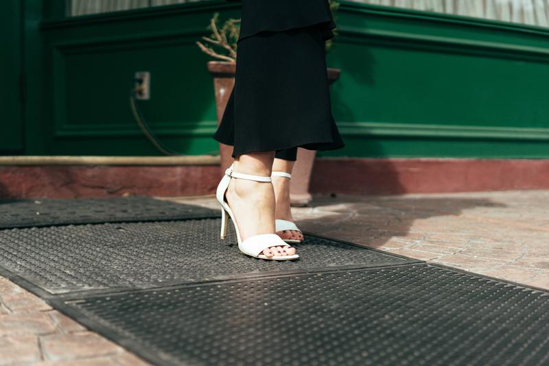 stilettos, sandal heels, white heels