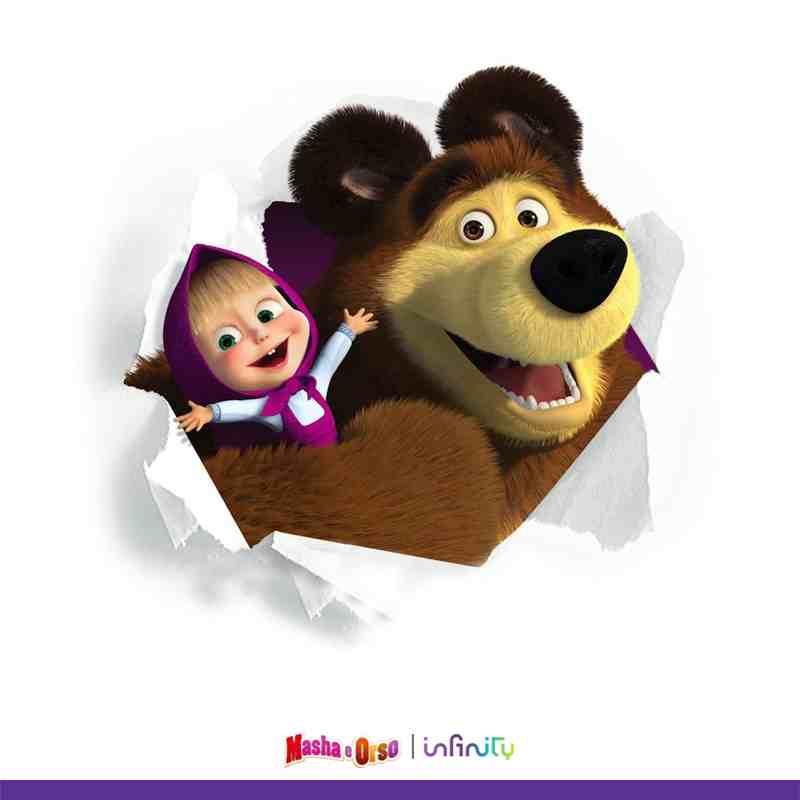 Masha e orso e tutti i cartoni e film che vuoi gratis per due mesi