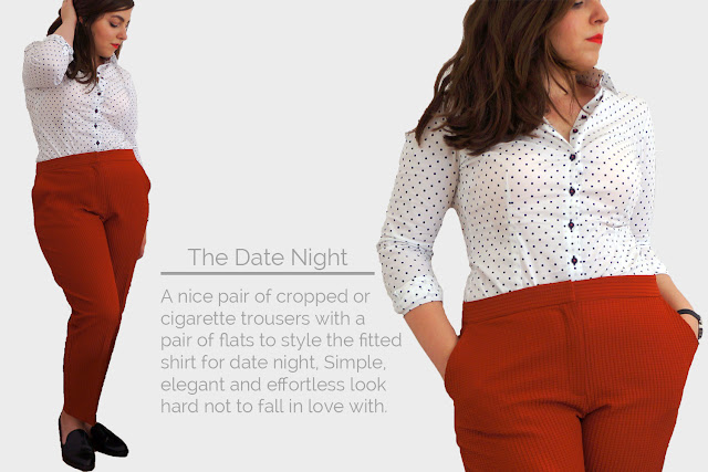 shirt, date night, smart casual, simple, hawes & curtis