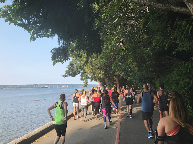 SeaWheeze seawall run
