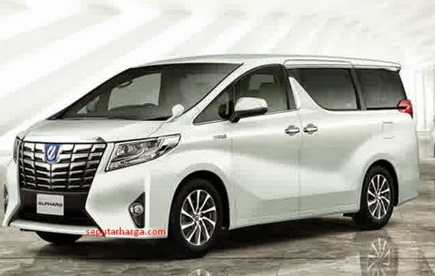All New Toyota Alphard 2015