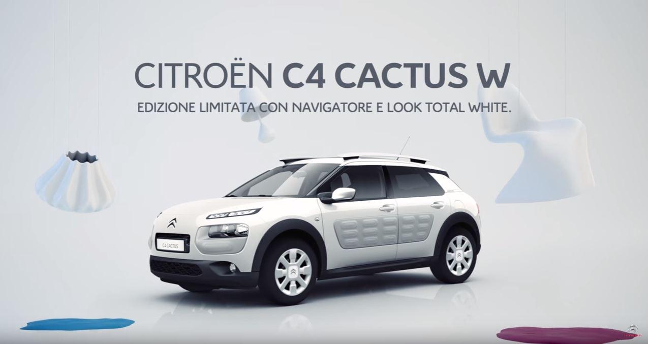 Canzone Pubblicità Citroen C4 Cactus W (White) Edizione Limitata