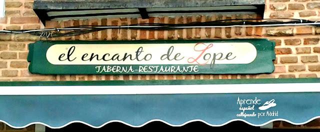 lope de vega en las calles de madrid