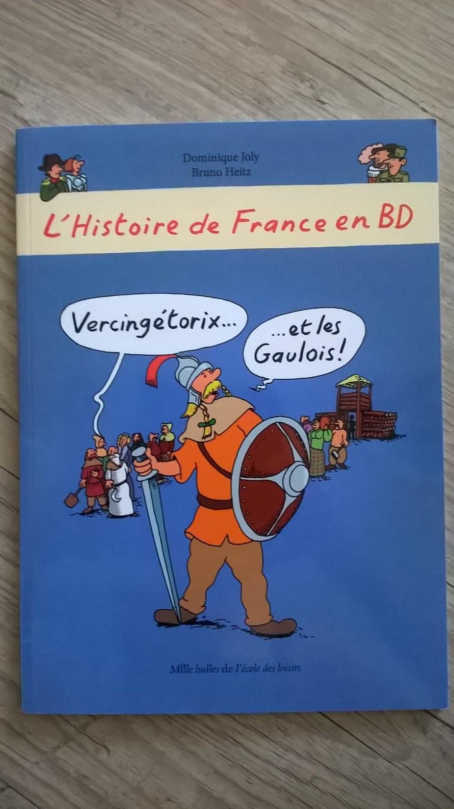 L Histoire De France En Bd Vercingetorix Et Les Gaulois De