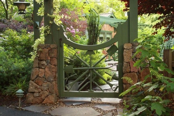 Garden Gate Build Yourself Quiet Beautiful